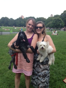 Central Park playdate with my auntie K and buddy Dylan!